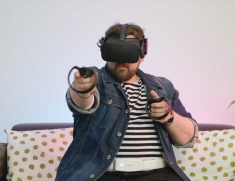 Use Feelbelt as vr accessory in virtual reality for VR gaming / Verwenden Sie Feelbelt als Vr-Zubehör in der virtual reality für VR gaming